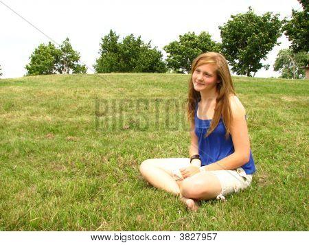 Prettty Girl Thinking