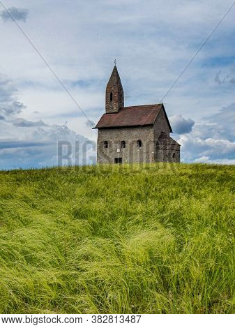 The Church Of St. Michael Archangel. Early Romanesque Church From The First Half Of The 11th Century