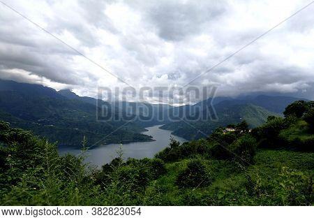 Beauty-full Composition Of Nature In Tehri Uttarakhand
