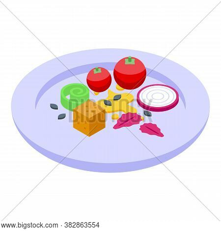 Restaurant Molecular Cuisine Icon. Isometric Of Restaurant Molecular Cuisine Vector Icon For Web Des