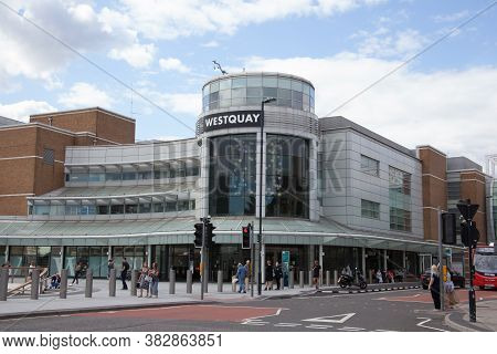 The Westquay Shopping Centre In Southampton In The Uk, Taken On The 10th July 2020