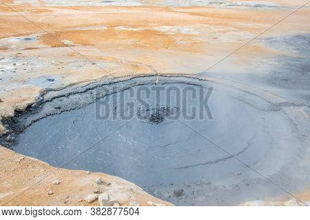 The Namafjall Geothermal Field Is Located In Northeast Iceland