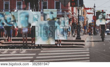 Face Recognition And Personal Identification Technologies In Street Surveillance Cameras, Law Enforc