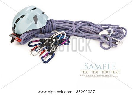 Isolated Climbing Equipment