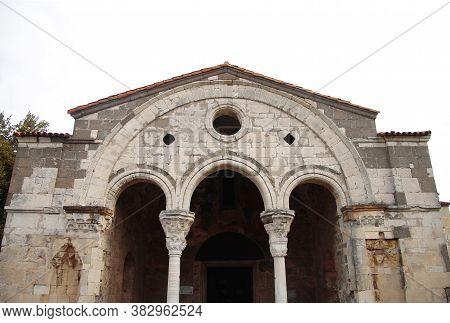 Enter Of Church Of St Sofya - Ayasofya Müzesi Trabzon Turkey 25 Sept 2016