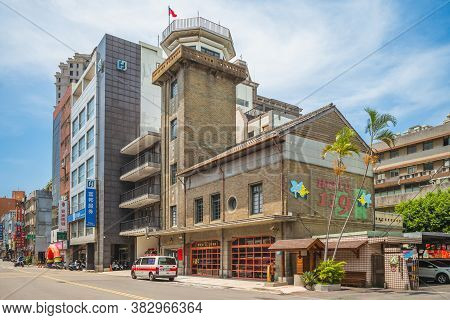 August 24, 2020: Hsinchu City Fire Museum, A Museum About Firefighting Located In Hsinchu City, Taiw