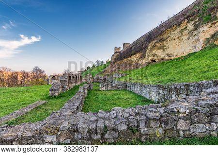 Belgrade Fortress In Kalemegdan Park In Belgrade, Capital Of Serbia