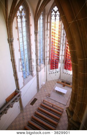 In Catholiñ Church From Top