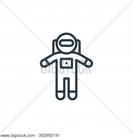 astronaut icon isolated on white background from universe collection. astronaut icon trendy and mode