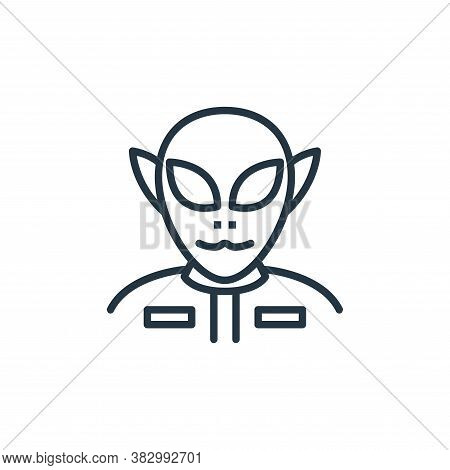 ufo icon isolated on white background from space collection. ufo icon trendy and modern ufo symbol f