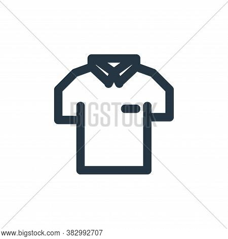 uniform icon isolated on white background from style accessories collection. uniform icon trendy and