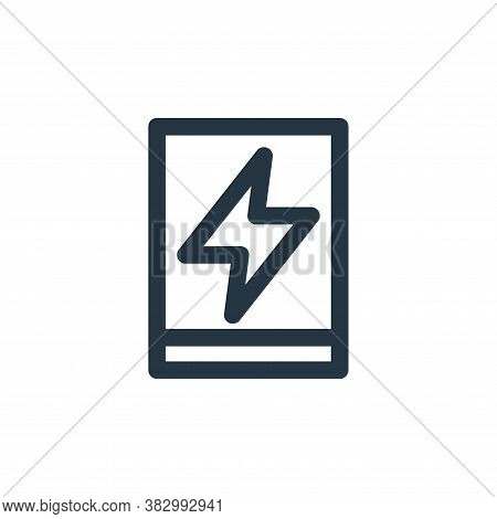 charge icon isolated on white background from user interface collection. charge icon trendy and mode