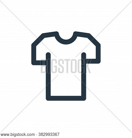 shirt icon isolated on white background from style accessories collection. shirt icon trendy and mod