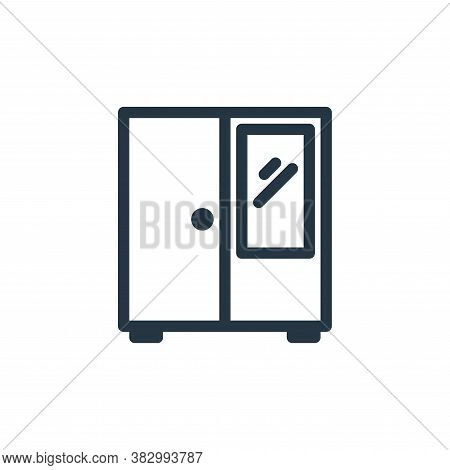 wardrobe icon isolated on white background from office equipment collection. wardrobe icon trendy an