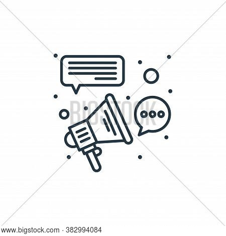 affiliate marketing icon isolated on white background from digital marketing collection. affiliate m