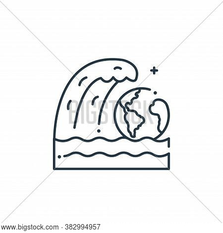 earth icon isolated on white background from mother earth day collection. earth icon trendy and mode