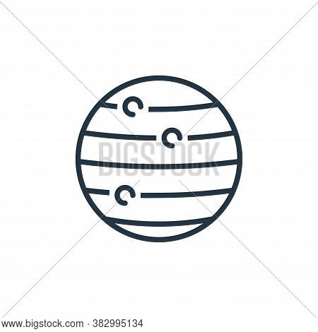 jupiter icon isolated on white background from space collection. jupiter icon trendy and modern jupi