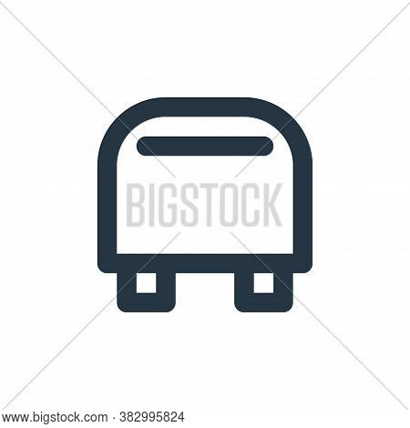 toaster icon isolated on white background from furniture collection. toaster icon trendy and modern