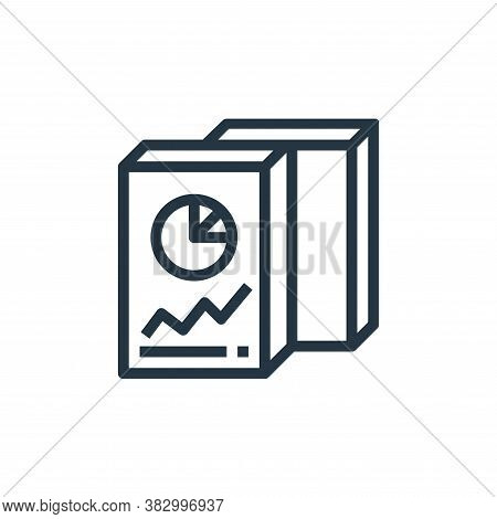 folder icon isolated on white background from business money and communication collection. folder ic