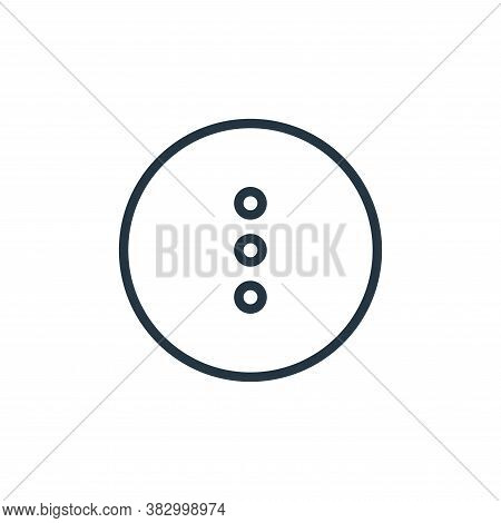 menu icon isolated on white background from media players collection. menu icon trendy and modern me