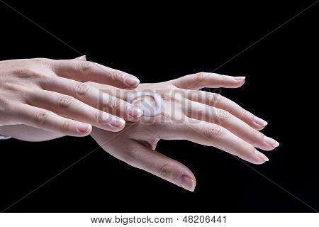 Female Hand Cream