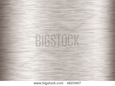 Silver steel background with metal grain and stroke effect poster