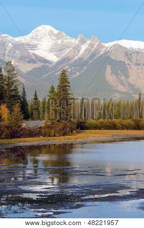 Vermillion Lakes In Banff
