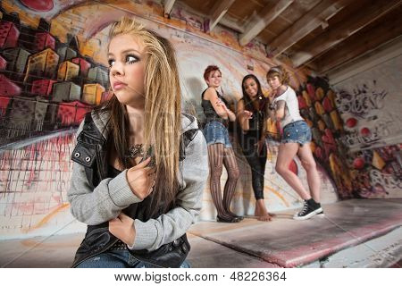 Gang Bullying Teen