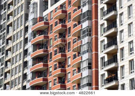 Highrise Apartment Buildings