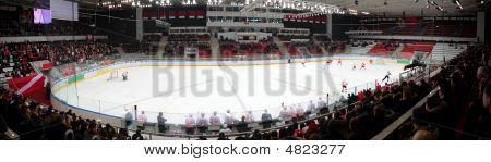 Panorama Of Hockey Stadium