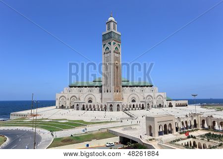 Great Mosque In Casablanca, Morocco