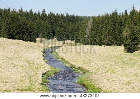 Spring in the Erzgebirge, Germany