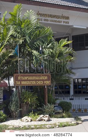 Mae Sot Border Crossing Point