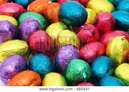 Easter Nest With Eggs