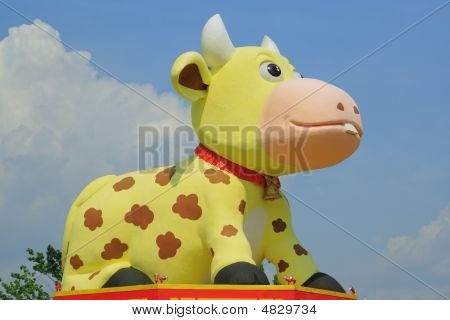 Cow Sculpture