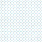 Seamless vector pattern with cute pastel baby blue polka dots on white background. For web design, desktop wallpaper, card, invitation, wedding, baby shower, album, background, art, decoration or scrapbook poster