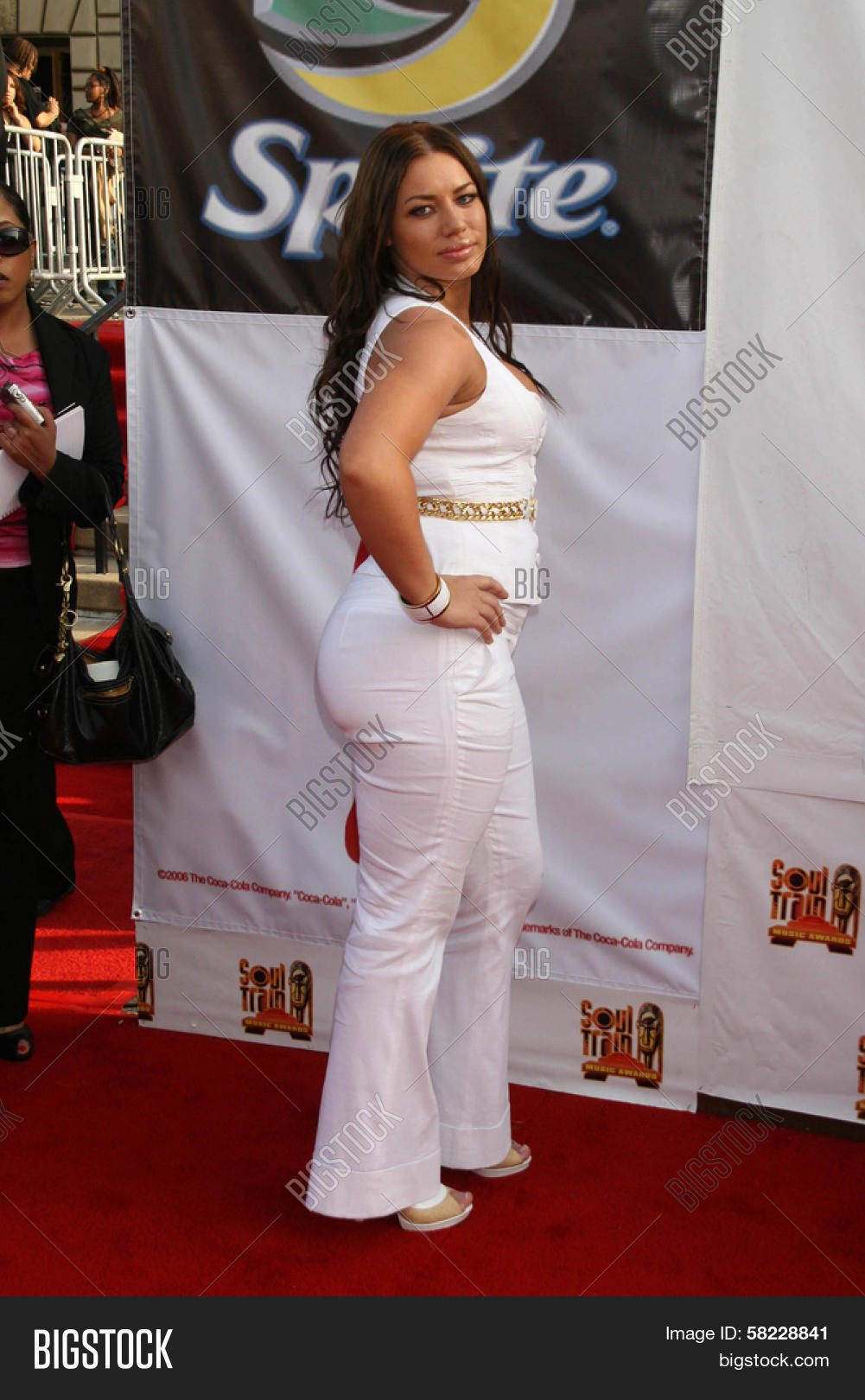 Elke The Stallion Arriving At The 21st Annual Soul Train Music Awards Pasadena Civic Auditorium