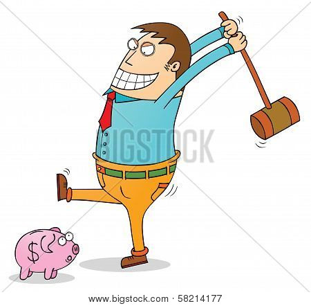 Pig Bank Robbery