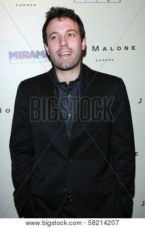 Ben Affleck at the celebration for the Oscar nominated films