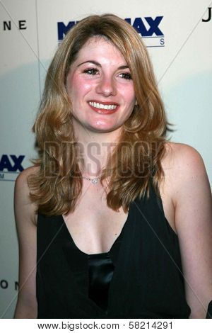 Jodie Whittaker at the celebration for the Oscar nominated films