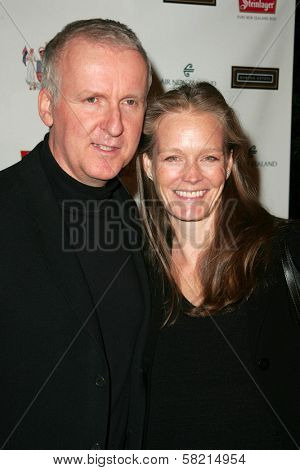 James Cameron and Suzy Amis at the Sixth Annual Celebration of New Zealand Filmmaking and Creative Talent. Beverly Hills Hotel, Beverly Hills, CA.02-23-07