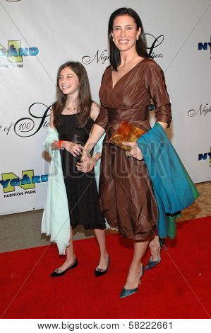 Mimi Rogers and her daughter at the 17th Annual Night of 100 Stars Gala. Beverly Hills Hotel, Beverly Hills, CA. 02-25-06