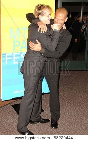Robert Knepper and Amaury Nolasco at The 24th Annual William S. Paley Television Festival - An Evening with