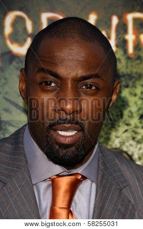 Idris Elba at the premiere of