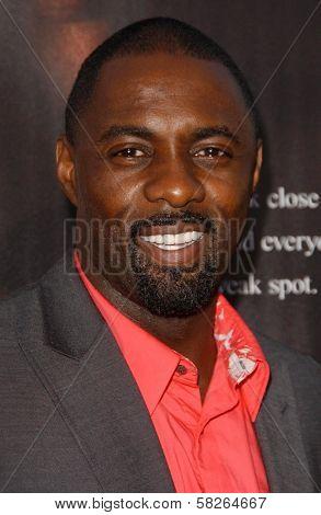 Idris Elba at the Los Angeles premiere of