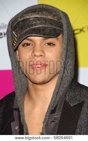 Evan Ross at the launch of T-Mobile Sidekick ID, T-Mobile Sidekick Lot, Hollywood, CA. 04-13-07