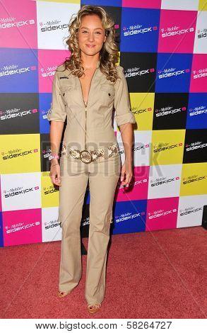 Lauren C. Mayhew at the launch of T-Mobile Sidekick ID, T-Mobile Sidekick Lot, Hollywood, CA. 04-13-07