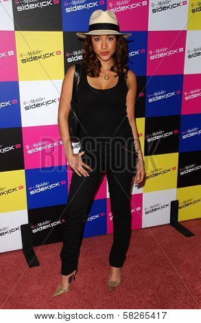 Fernanda Romero at the launch of T-Mobile Sidekick ID, T-Mobile Sidekick Lot, Hollywood, CA. 04-13-07