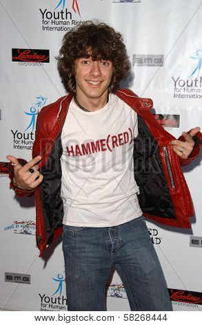 Matthew Underwood at a Fashion and Music Extravaganza Promoting Human Rights for Youth. Church of Scientology Celebrity Centre Pavilion, Los Angeles, CA. 04-14-07