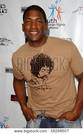 Dominic Daniel at a Fashion and Music Extravaganza Promoting Human Rights for Youth. Church of Scientology Celebrity Centre Pavilion, Los Angeles, CA. 04-14-07